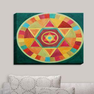 Decorative Canvas Wall Art | Jennifer Baird - Mandala II A