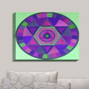 Decorative Canvas Wall Art | Jennifer Baird - Mandala II C