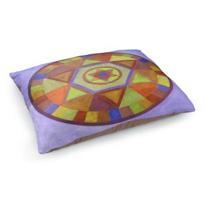 Decorative Dog Pet Beds | Jennifer Baird's Mandala II D