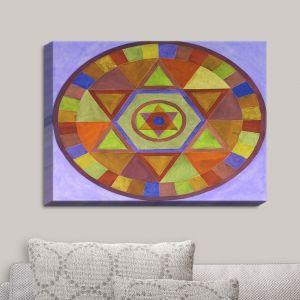 Decorative Canvas Wall Art | Jennifer Baird - Mandala II D