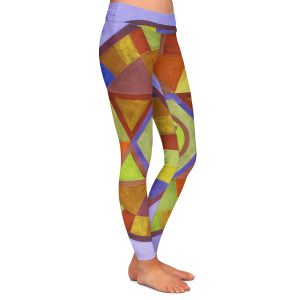 Casual Comfortable Leggings   Jennifer Baird Mandala II D