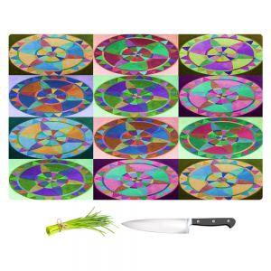 Artistic Kitchen Bar Cutting Boards | Jennifer Baird - Mandala Composite
