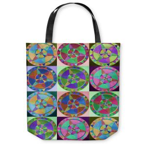 Unique Shoulder Bag Tote Bags | Jennifer Baird Mandala Composite