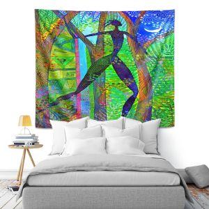Artistic Wall Tapestry   Jennifer Baird Night Quest