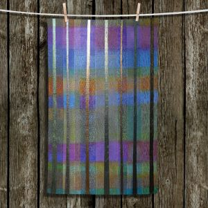 Unique Hanging Tea Towels   Jennifer Baird - Rainy Season 1   forest trees abstract simple