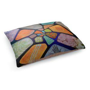 Decorative Dog Pet Beds | Jennifer Baird - Template | abstract shape rock stone