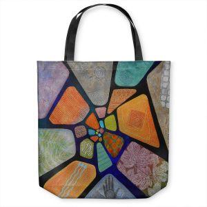 Unique Shoulder Bag Tote Bags   Jennifer Baird - Template   abstract shape rock stone