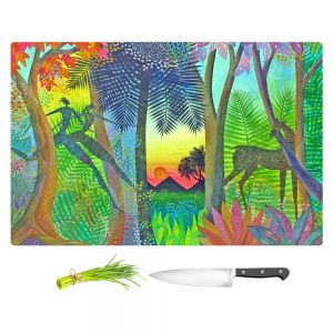 Artistic Kitchen Bar Cutting Boards | Jennifer Baird - Twilight - The Gate Between Worlds