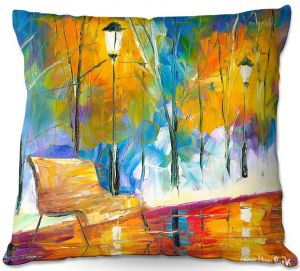 Decorative Outdoor Patio Pillow Cushion | Jessilyn Park - Alone Time