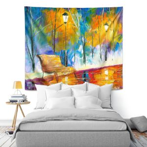 Artistic Wall Tapestry | Jessilyn Park - Alone Time