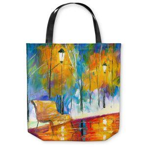 Unique Shoulder Bag Tote Bags   Jessilyn Park - Alone Time