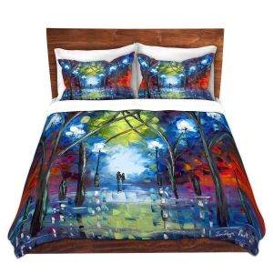 Artistic Duvet Covers and Shams Bedding | Jessilyn Park - At Last | Outside Park People Love