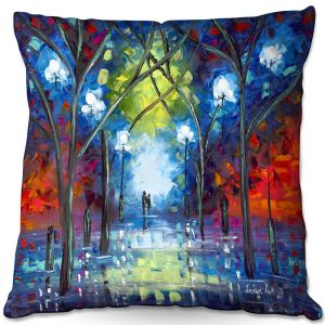 Throw Pillows Decorative Artistic   Jessilyn Park - At Last   Outside Park People Love