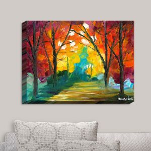 Decorative Canvas Wall Art | Jessilyn Park - Autumn Solitude
