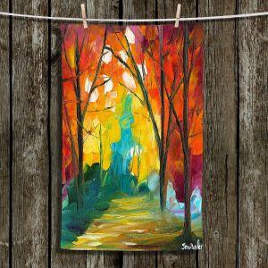 Unique Bathroom Towels | Jessilyn Park - Autumn Solitude