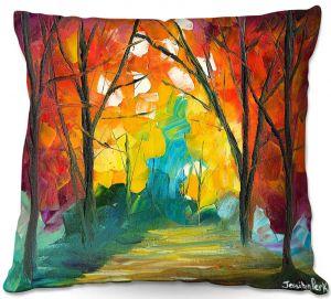 Throw Pillows Decorative Artistic | Jessilyn Park - Autumn Solitude