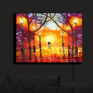 Nightlight Sconce Canvas Light | Jessilyn Park - Endless Love | Sunset Colorful
