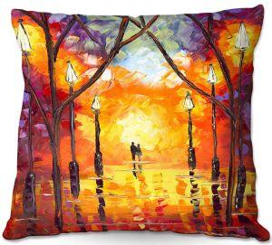 Decorative Outdoor Patio Pillow Cushion | Jessilyn Park - Endless Love