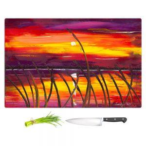 Artistic Kitchen Bar Cutting Boards | Jessilyn Park - Evening Lake Butler