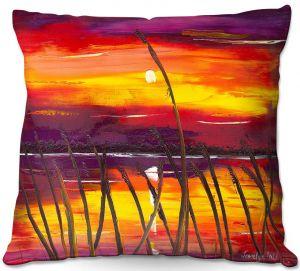 Decorative Outdoor Patio Pillow Cushion | Jessilyn Park - Evening Lake Butler