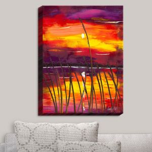 Decorative Canvas Wall Art | Jessilyn Park - Evening Lake Butler
