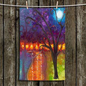 Unique Hanging Tea Towels | Jessilyn Park - I Think Were Alone Now | Trees Landscapes