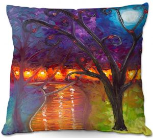 Throw Pillows Decorative Artistic   Jessilyn Park - I Think Were Alone Now