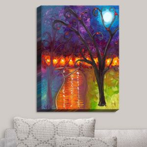 Decorative Canvas Wall Art | Jessilyn Park - I Think Were Alone Now
