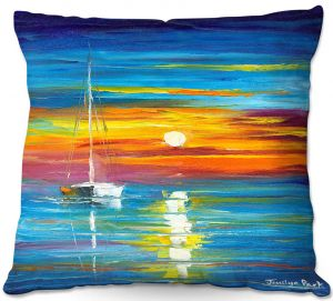 Throw Pillows Decorative Artistic | Jessilyn Park - Lost at Sea
