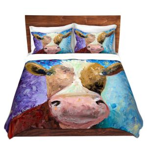 Artistic Duvet Covers and Shams Bedding | Jessilyn Park - Miss Moo