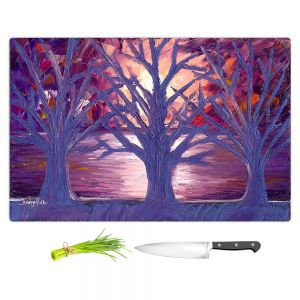 Artistic Kitchen Bar Cutting Boards   Jessilyn Park - Moonlight Whispers