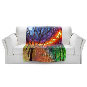 Artistic Sherpa Pile Blankets   Jessilyn Park - Never Alone