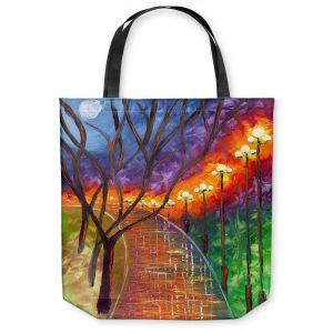 Unique Shoulder Bag Tote Bags   Jessilyn Park - Never Alone