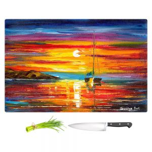 Artistic Kitchen Bar Cutting Boards | Jessilyn Park - Playa del Sol