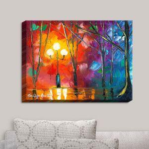 Decorative Canvas Wall Art | Jessilyn Park - Rainy Rendevous