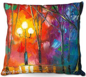 Decorative Outdoor Patio Pillow Cushion | Jessilyn Park - Rainy Rendevous