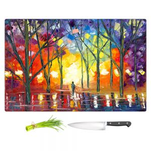 Artistic Kitchen Bar Cutting Boards | Jessilyn Park - Reflections of the Soul