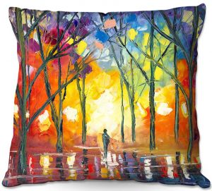 Throw Pillows Decorative Artistic   Jessilyn Park - Reflections of the Soul