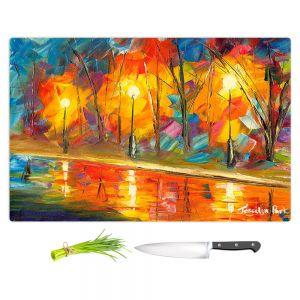 Artistic Kitchen Bar Cutting Boards | Jessilyn Park - Streetlights