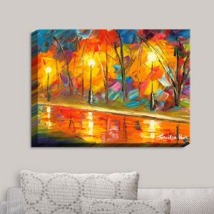 Decorative Canvas Wall Art | Jessilyn Park - Streetlights