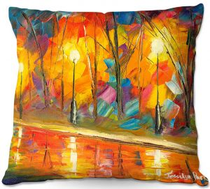 Throw Pillows Decorative Artistic | Jessilyn Park - Streetlights