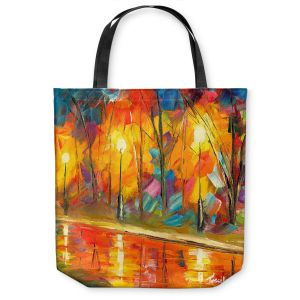 Unique Shoulder Bag Tote Bags | Jessilyn Park - Streetlights