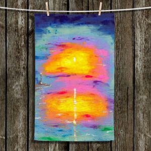 Unique Bathroom Towels | Jessilyn Park - Sunrise at Lighthouse