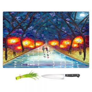 Artistic Kitchen Bar Cutting Boards | Jessilyn Park - The Night We Fell in Love