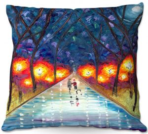 Throw Pillows Decorative Artistic | Jessilyn Park - The Night We Fell in Love