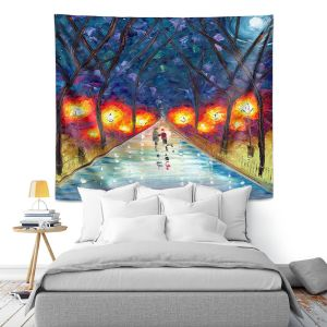 Artistic Wall Tapestry | Jessilyn Park - The Night We Fell in Love