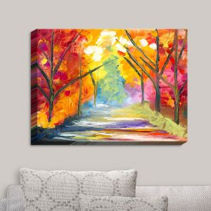 Decorative Canvas Wall Art | Jessilyn Park - The Road Less Traveled