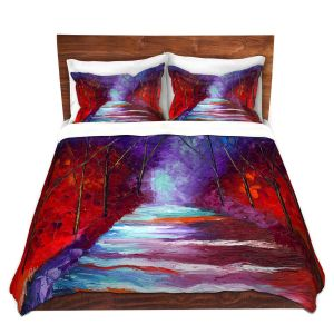 Artistic Duvet Covers and Shams Bedding | Jessilyn Park - The Watchers