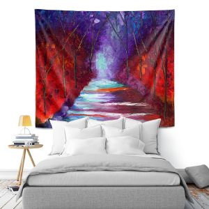 Artistic Wall Tapestry   Jessilyn Park - The Watchers