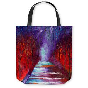 Unique Shoulder Bag Tote Bags | Jessilyn Park - The Watchers